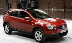 Latvijā populārākais jaunais auto 'Nissan Qashqai' svin 10 gadu jubileju