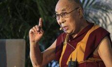 Baltijas valstis zina, ka patiesībai ir lielāks spēks nekā ieročiem, teic Dalailama