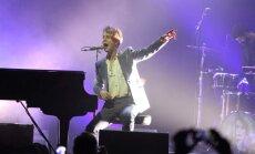 Foto: Britu mūziķis Odels sajūsmina Latvijas publiku
