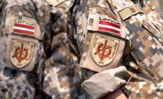 Uz apmācības misiju Mali svinīgi pavadīti Latvijas karavīri