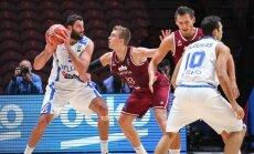 Латвия уступает концовку Греции, для команды Багатскиса еще ничего не ясно