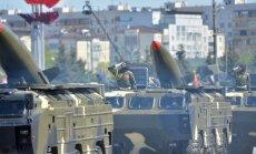 Krievija uz Sīriju pārvietojusi līdz šim lielāko raķešu 'Točka' partiju