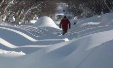Video: ASV pilsēta Bufalo grimst sniegā