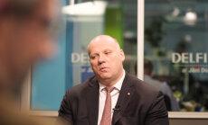 'Delfi TV ar Jāni Domburu': aizsardzības ministrs Raimonds Bergmanis. Intervijas teksts