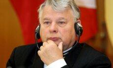 Polijas Senāta spīkers aicina pieprasīt Krievijai paskaidrojumus par 'melno sarakstu'