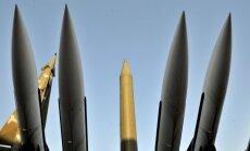 Krievija, iespējams, Krimā sākusi ievest raķetes, kurām var uzstādīt kodolgalviņas