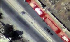 Krievija netieši norāda, kāpēc ANO konvoju kāds varēja bombardēt