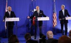 Sīrijas konflikts: Rietumvalstis vēlas stingru rezolūciju ķīmisko ieroču jautājumā