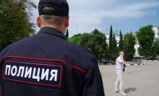 Ukrainas atbalsta akcijā Sanktpēterburgā piekauts 'Eho Moskvi' žurnālists