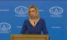 Krimu Ukrainai neatdos, paziņo Krievijas Ārlietu ministrija