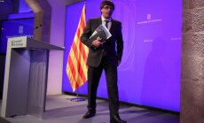 Uz Kataloniju nosūtīti papildspēki – divi karavīru kontingenti