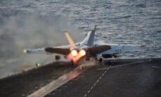 ASV gaisa spēkiem izsīkst munīcijas krājumi uzlidojumiem 'Daesh'