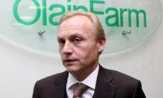 'Olainfarm' pērn līdz 93,7 miljoniem eiro kāpinājis apgrozījumu