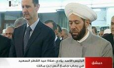 Noliedz ziņas par Asada ievainošanu sadursmē ar nemierniekiem