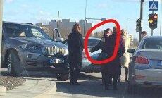 Foto: Igaunijā visvairāk autoavāriju izraisījusī pensionāre Valentīna atkal iekūlusies negadījumā