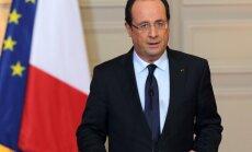 Francijas prezidents Obamam pauž 'dziļu neapmierinātību' ar pilsoņu izspiegošanu