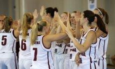 Latvijas U-20 basketbolistes cieš pārliecinošu neveiksmi Eiropas čempionāta ceturtdaļfinālā