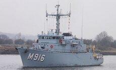 NATO uz Baltijas jūru nosūta piecus karakuģus, lai nostiprinātu Austrumeiropas sabiedroto aizsardzību