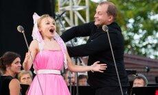 Foto: Galā koncerts krāšņi noslēdz Siguldas Opersvētkus