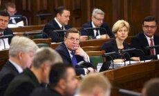 Pēc vērienīgas kvotu sadales Saeima atbalsta nākamā gada budžetu