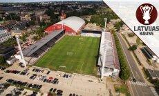 Latvijas kausa fināls futbolā pēc trīs gadu pārtraukuma notiks Rīgā
