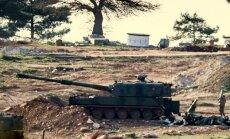 Turcija esot gatava sauszemes operācijām Sīrijā, ja tās atbalstīs sabiedrotie
