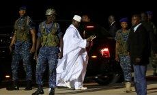 Gambijas eksprezidents aizbraucis kopā ar valsts naudu