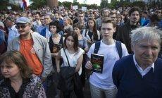 Krievijas zinātnieki protestē pret valdību
