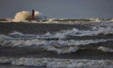 Otrdienas vakarā jūras piekrastē gaidāmas stipras vēja brāzmas