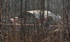 Польские эксперты: на крыле самолета Качиньского есть следы взрыва