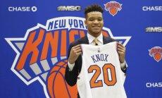 NBA draftā izraudzītais Nokss kļūst par Porziņģa komandas biedru Ņujorkas 'Knicks'