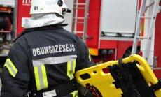 Otrdien ugunsgrēkā Jelgavas novadā cietis cilvēks