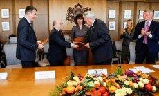 Paraksta memorandu par 5% PVN piemērošanu Latvijai raksturīgiem augļiem un dārzeņiem
