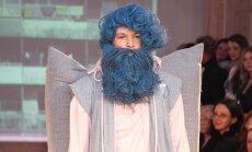 Paviljons: мужская обнаженка от Артиса Штамгутса и жители Межциемса и Плявниеков с синими бородами