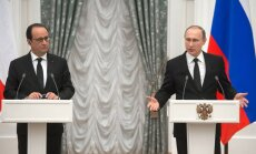 Президенты России и Фрнции договорились координировать борьбу с ИГ