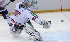 KHL čempioni 'Metallurg' Gagarina kausa ceturtdaļfinālā trešoreiz zaudē 'Sibirj'