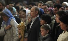 Путин посетил новый храм в Сочи, в ХХС впервые выставлены Дары волхвов