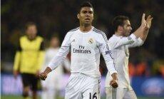 Madrides 'Real' futbolisti praktiski zaudē izredzes iegūt Spānijas čempiontitulu
