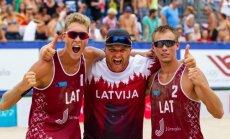 Šmits/Samoilovs triumfē Eiropas U–22 čempionātā pludmales volejbolā