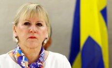 Protestējot pret Turcijas operāciju Afrīnā, Zviedrijas ministre atlikusi vizīti