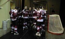 Latvijas hokejistiem PČ svarīgs mačs pret Dāniju