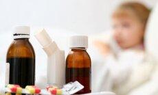 Latvijā vērojama neracionāla antibiotiku ordinēšana; izstrādātas to lietošanas rekomendācijas bērniem