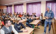 Renārs Zeltiņš skolēnus iedvesmo apzināties savu mērķi