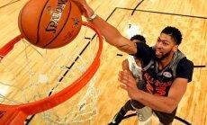 NBA Zvaigžņu spēlē Entonijs Deiviss labo Čemberleina rezultativitātes rekordu