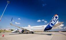 'Wizz Air' pirmo reizi testē un izrāda jaunās 'Airbus' lidmašīnas