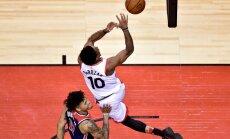 'Raptors', 'Celtics' un 'Pelicans' gūst otro uzvaru NBA 'play-off' pirmajā kārtā
