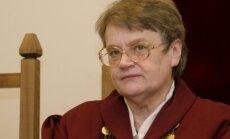 Vairāku 'skaļu' lietu tiesnese Šteinerte dosies pensijā