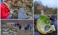 Cilvēku kauli Buivīšu pilskalnā: Nīcgales pagasts sola atraktos pārapbedīt