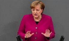 Меркель одобрила удар США и их союзников по Сирии