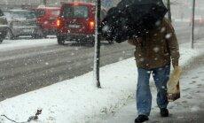 Visplānākā sniega sega pirmdien - Rīgā; biezākā - Stokholmā
